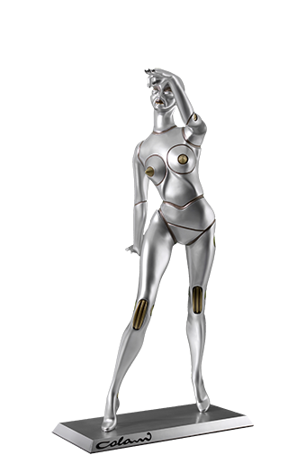 Colani - Cyberlady - Silber